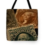 Magnification Of Classic 19th Century Tote Bag
