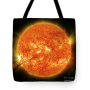 Magnificent Coronal Mass Ejection Tote Bag