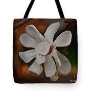 Magnolia Bloom Tote Bag