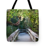 Mahogany Hammock Tote Bag by Kenneth Albin