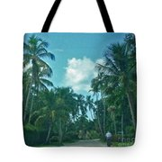 Mail Delivery In Paradise Tote Bag