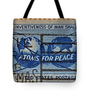 Mail Early For Christmas And Peace Tote Bag