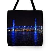 Main Street Bridge At Night Tote Bag