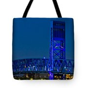 Main Street Bridge Jacksonville Tote Bag