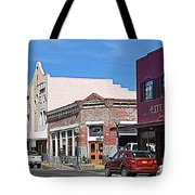 Main Street In Silver City Nm Tote Bag