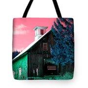 Maine Barn Tote Bag by Marie Jamieson
