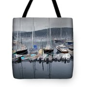 Maine Harbor Tote Bag