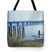 Maine Highway Tote Bag