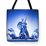 Maine Monument  In Blue Tote Bag