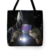 Maintenance Technician Uses A Tig Tote Bag