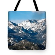 Majestic Rockies Tote Bag