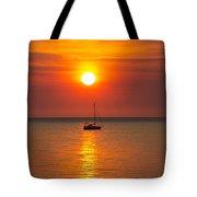 Majestic Sunset V2 Tote Bag