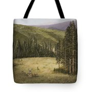 Majesty In The Rockies Tote Bag