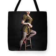 Major Trouble 477 Tote Bag