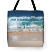 Makena Waves Tote Bag