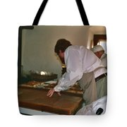 Making Bread Tote Bag