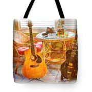Making Music 005 Tote Bag by Barry Jones