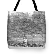 Malacca: Waterspouts Tote Bag