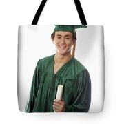 Male Graduate Tote Bag