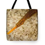 Male Yellow Banded Pipefish Carrying Tote Bag