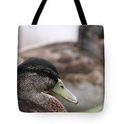 Mallard - Front And Rear Tote Bag