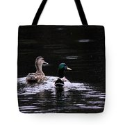 Mallards - Like Walking In The Rain Tote Bag