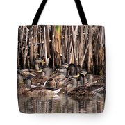 Mallards - Under Mothers Wing Tote Bag