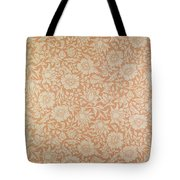 Mallow Wallpaper Design Tote Bag by William Morris
