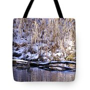 Mama Duck On Patrol Tote Bag