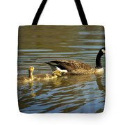 Mama Honker And Goslings Tote Bag