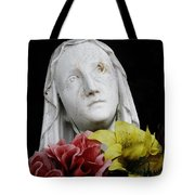 Mama Mary Tote Bag