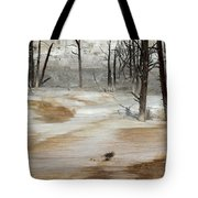 Mammoth Terrace Runoff Tote Bag