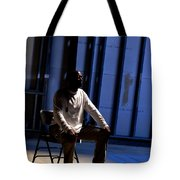 Man In Prayer Tote Bag