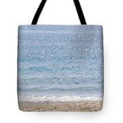 Man On Beach Tote Bag