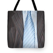 Man Wearing A Suit And Tie Tote Bag