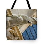 Man With Gaping Mouth Tote Bag