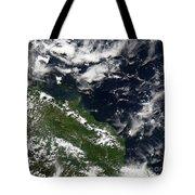 Manam Island, Papua New Guinea Tote Bag