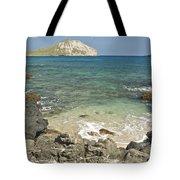 Manana Island View 0068 Tote Bag