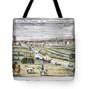 Manchester, England, 1740 Tote Bag