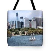 Manhattan Backdrop Tote Bag
