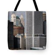 Manhattan Buildings Tote Bag