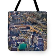 Manhattan Lincoln Tunnel Entrance Tote Bag