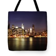 Manhattan Panorama Tote Bag