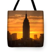 Manhattan Sunrise II Tote Bag