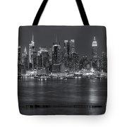 Manhattan Twilight Vii Tote Bag