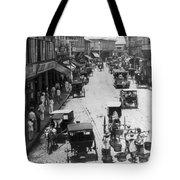 Manilla - Philippine Islands - Escolta Street Scene - C 1901 Tote Bag