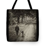 Man's Best Friend Tote Bag