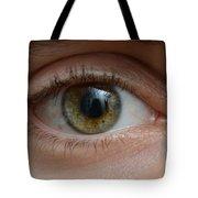 Mans Eye Tote Bag
