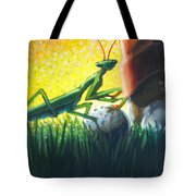 All Players Great And Small - Mantis Tote Bag