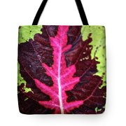 Many Leaves Of Coleus Tote Bag